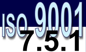 ISO 9001:2008 - 7.5.1. Controle de produção e prestação de serviço