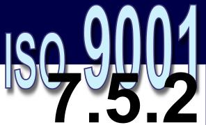 ISO 9001:2008 - 7.5.2. Validação dos processos de produção e prestação de serviço