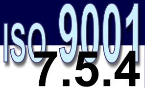 ISO 9001:2008 - 7.5.4. Propriedade do cliente