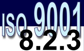 ISO 9001:2008 - 8.2.3. Monitoramento e medição de processos