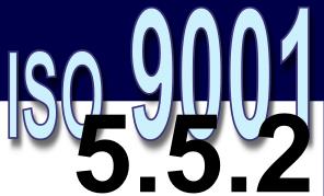 ISO 9001:2008 - 5.5.2. Representante da direção
