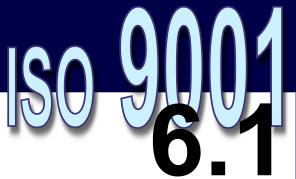ISO 9001:2008 - 6.1. Provisão de recursos
