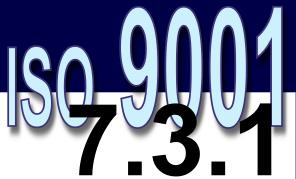 ISO 9001:2008 - 7.3.1. Planejamento do projeto e desenvolvimento