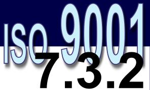 ISO 9001:2008 - 7.3.2. Entradas de projeto e desenvolvimento