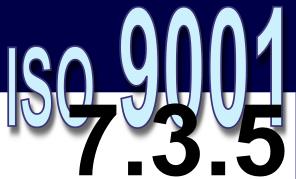 ISO 9001:2008 - 7.3.5. Verificação de projeto e desenvolvimento