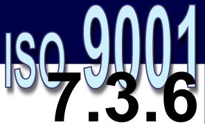 ISO 9001:2008 - 7.3.6. Validação de projeto e desenvolvimento