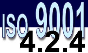ISO 9001:2008 – 4.2.4. Controle de registros da qualidade