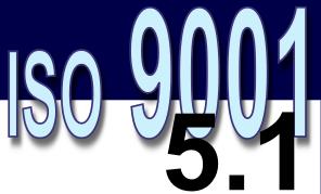 ISO 9001:2008 - 5.1. Comprometimento da direção