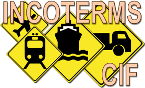 INCOTERMS - CIF - Cost, Insurance and freight