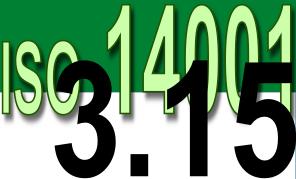 ISO 14001 2004 - 3.15 Não conformidade
