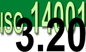 ISO 14001 2004 - 3.20 Registro